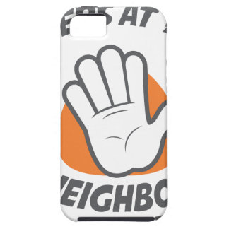 Wave All Your Fingers At Your Neighbors Day iPhone SE/5/5s Case