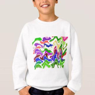 Wave Artistic Sensual TEMPLATE easy add TEXT IMAGE Sweatshirt