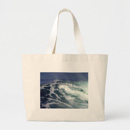 Wave At La Jolla Cove Canvas Bag