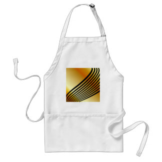 wave background adult apron