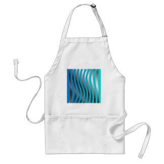 wave background apron