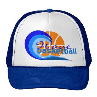Wave Basketball Cap Trucker Hat