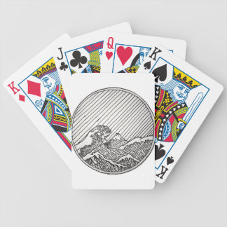 Wave Bicycle Playing Cards