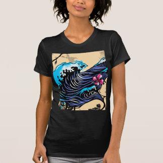 Wave (Black) T-Shirt