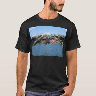 Wave Blue t-shirts