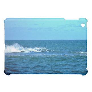 Wave breaking on reef iPad mini cases