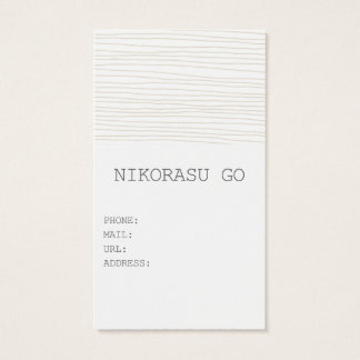 WAVE BUSINESS CARD