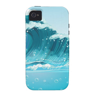 Wave Vibe iPhone 4 Covers