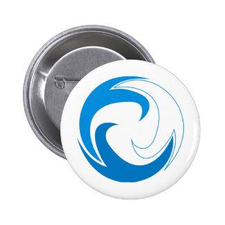 Wave Circle Pin