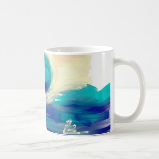 Wave Classic White Coffee Mug Zazzle