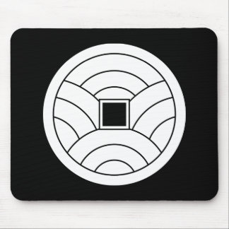 Wave coin mouse pad