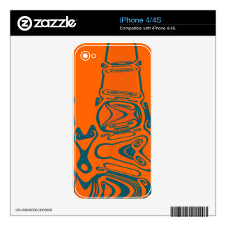 WAVE COMMING IN DECALS FOR THE iPhone 4S