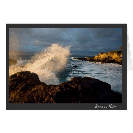 Wave Crash Card