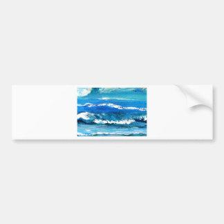 Wave Dance - cricketdiane ocean decor Bumper Sticker