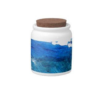 Wave Dance - cricketdiane ocean decor Candy Jar