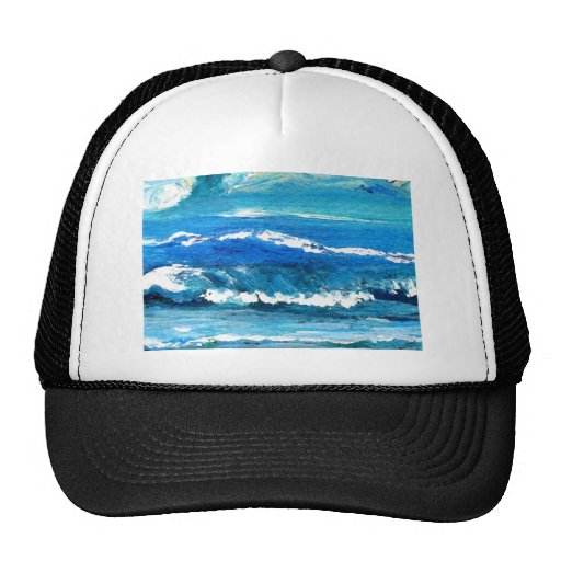 Wave Dance - cricketdiane ocean decor Hat