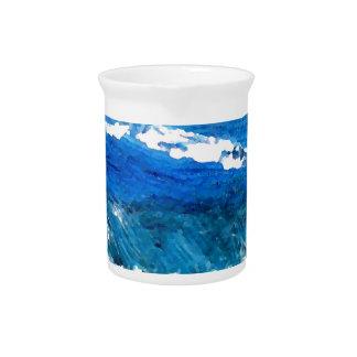 Wave Dance - cricketdiane ocean decor Beverage Pitchers