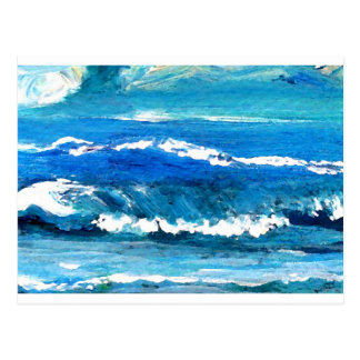 Wave Dance - cricketdiane ocean decor Postcard