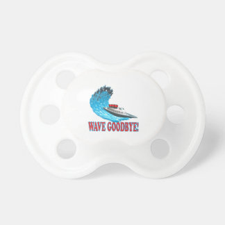 Wave Goodbye Baby Pacifier