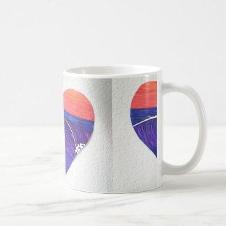 Wave Heart Mug