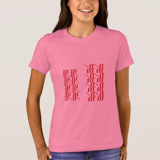 WAVE JEWEL PATTERN PRINT T-Shirt