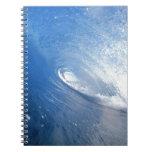 wave.jpg libro de apuntes con espiral