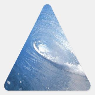 wave.jpg triangle sticker