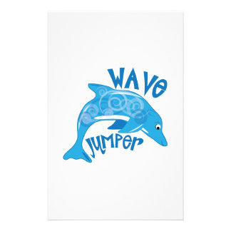 Wave Jumper Customized Stationery