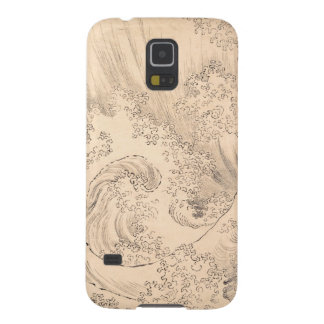Wave Katsushika Hokusai  vintage waterscape art Case For Galaxy S5