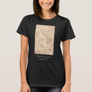 Wave Katsushika Hokusai  vintage waterscape art T-Shirt