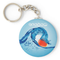 Wave Keyring 5 - Red
