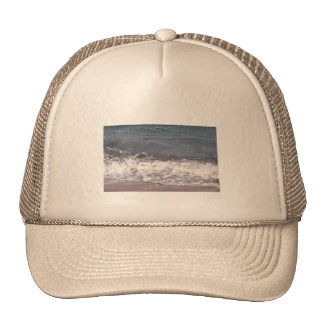 Wave Lapping at Beach Trucker Hat