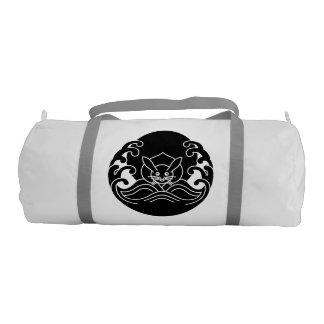Wave moon rabbit duffle bag