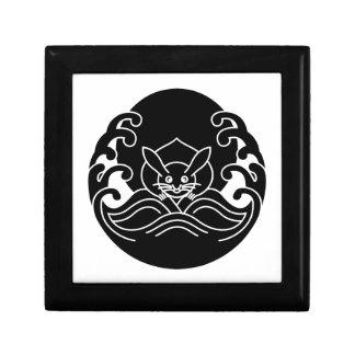 Wave moon rabbit jewelry box