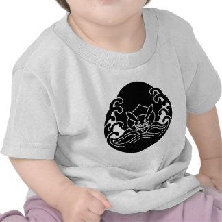Wave moon rabbit t-shirt