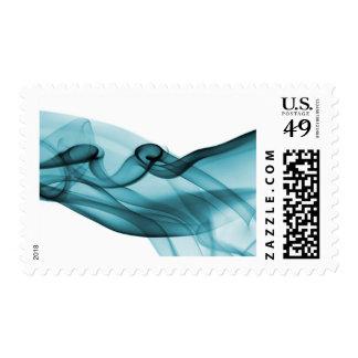 Wave of Blue Stamp
