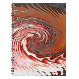 Wave of Fire Notebook