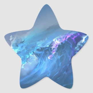Wave Of Life Star Sticker