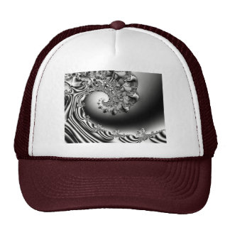 Wave of Madness Fractal  Art Mesh Hats