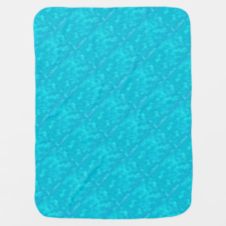 Wave Of Turquoise Baby Blanket