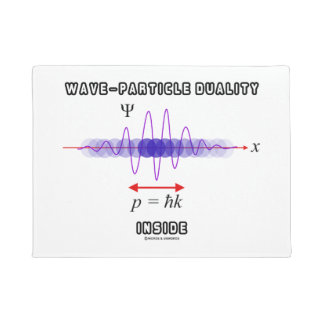 Wave-Particle Duality Inside Uncertainty Principle Doormat