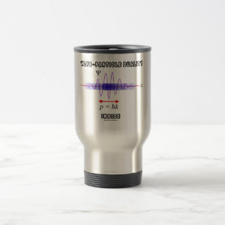 Wave-Particle Duality Inside Uncertainty Principle 15 Oz Stainless Steel Travel Mug