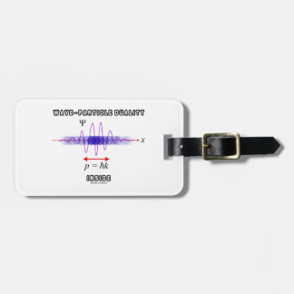 Wave-Particle Duality Inside Uncertainty Principle Tag For Bags