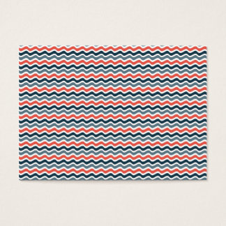 Wave Pattern Business Card