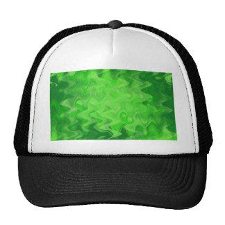 Wave pattern green by Christne Bässler Trucker Hat