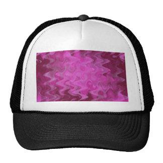 wave pattern pink created by Tutti Trucker Hat