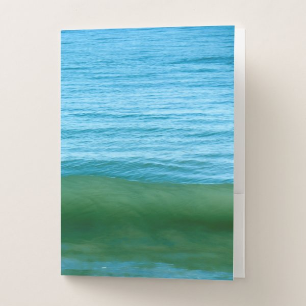 Wave Pocket Folder