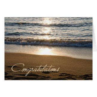 Wave Retirement Congratulations Card