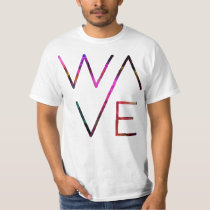 Wave Retro Style T Shirt