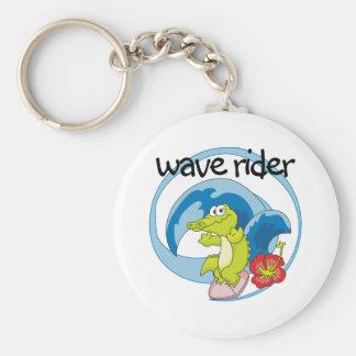Wave Rider Keychain